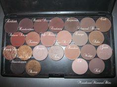 Mac+Eyeshadow+Palette   Moon*Beam*Shimmers*~: My MAC Eyeshadow Palettes