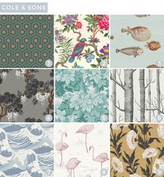 Wallpaper Roundup -- incredible wallpaper source list | Emily Henderson