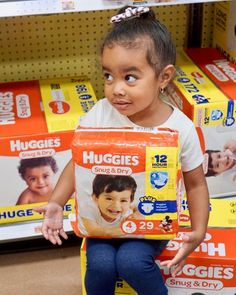 @huggies and @krogerco have teamed up to donate a day's worth of diapers (up to 1MM) to the National Diaper Bank Network, with the purchase of Huggies®️️️ Diapers, 1 Big Pack or 2 Jumbo Packs between 11/8 & 12/2. Learn more here: https://ooh.li/9f1eaaa #ad #DiaperNeed