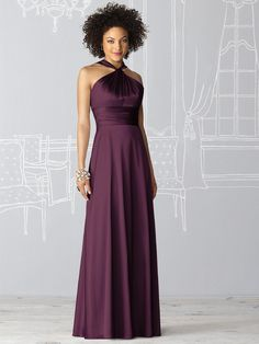 After Six Bridesmaid Dress 6624  #purple #bridesmaid #dress