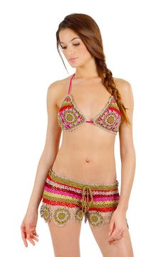 Pain Du Sucre. Crochet swim - wear