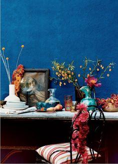 deep blue intricate