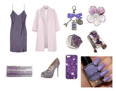 """""""Purple slip on dress"""" by megan-noble-1 on Polyvore featuring Paul Smith, Jimmy Choo, Valentino, Isabel Englebert, Chanel, Marc by Marc Jacobs, Ladurée, women's clothing, women and female"""