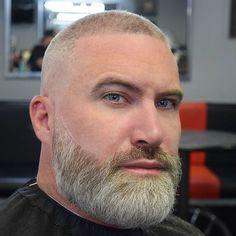 Beards And Mustaches, Grey Beards, Beard Butter, Handsome Bearded Men, Bald With Beard, Beard No Mustache, Moustache, Bald Hair, Beard Model