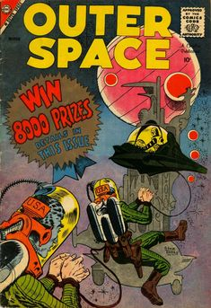 Outer Space #21 (Charlton Comics) - Comic Book Plus