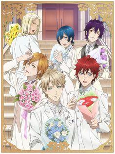 Dance com Devils Série, Novel Visual Kaginuki Rem , Nanashiro Mago , Natsumezaka Shiki , Roen , Sogami Urie and Tachibana Lind .