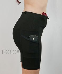 Available Black Friday! Store 2 guns and all your stuff in these super soft Capri Holster Shorts! Made in America. 2 Guns, Guns And Ammo, Concealed Carry Clothing, Ccw Holsters, Clothing Company, New Product, Carry On, Black Friday, Capri