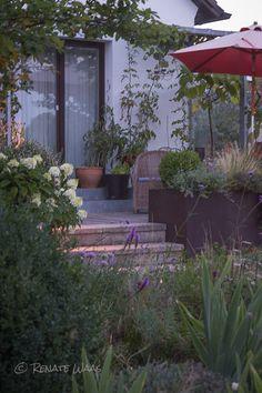 Ideal Terrasse beleuchten Terrasse mit Beleuchtung Gartenbeleuchtung Sitzplaetze im Garten Terrasse Gartenarchitekt Renate Waas Geniesser