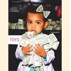 Blue Ivy Carter, fille de Beyoncé & Jay Z. Elle apprend vite la valeur de l'argent!