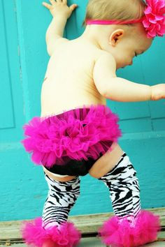 cute ruffles and leg warmers.. love this!!