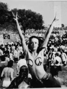 PEACE . Why couldn't I have been born a few decades earlier and in the USA in San Fransico?