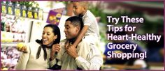 Tips for Heart-Healthy Grocery Shopping
