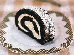 vcielkaisr-mojerecepty: Piškótová roláda s čokoládou