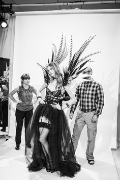 Think of it as a little preview for the climactic show. Oh, and we're with Behati. http://www.thecoveteur.com/behati-prinsloo-victorias-secret/