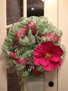 Spring & Summer Mesh Wreath