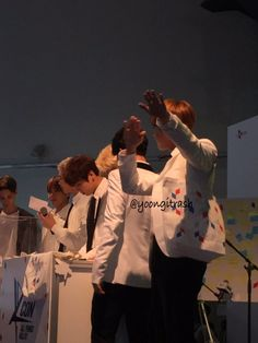 J-Hope just had to dab.. lol ❤ Meet and great at #BTS #방탄소년단 #KCONPARIS