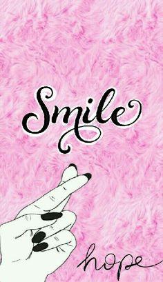 #pink #smile #hope #sueños #esperanza #fondos #wallpaper #rosa