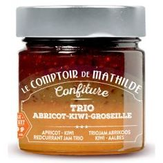 Confiture Trio Abricot - Kiwi - Groseille Macaron Filling, Biscuits, Kiwi, Macarons, Salsa, Jar, Food, Marmalade, Candy