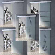 Durovin Luxury Sliding Safety Glass Door Set Running Rail Track Kit Soft Close | Home, Furniture & DIY, DIY Materials, Doors & Door Accessories | eBay!