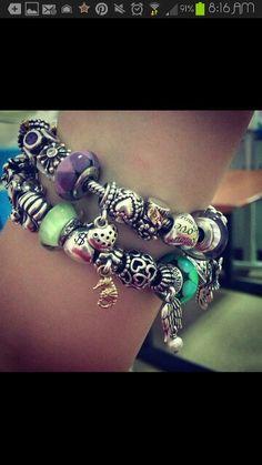 my next bracelet will be purple #green #purple