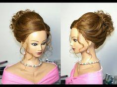 Hairstyles for long hair. Formal Hairstyles, Bun Hairstyles, Wedding Hairstyles, Bridal Hairstyle, Updo Hairstyle, Wedding Updo, Hairdos, Prom Hair Tutorial, Medium Long Hair