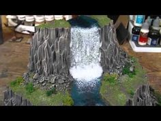 TerranScapes - Recent Waterfall - Warhammer Warmachine D LOTR
