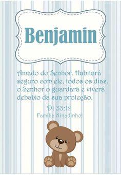Quadro ursinho...Feito para decorar o quarto do Benjamin... Instagram Blog, Baby Names, Baby Boy, Baby Shower, Poster, Baby Name List, Name Meanings, Cute Names, Children Names
