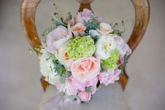Mint & Peach Rockhaven Wedding by Tasha Seccombe {Tam & Jim} May Weddings, Bouquets, Wedding Stuff, Floral Wreath, Hair Beauty, Wedding Inspiration, Peach, Mint, Rustic