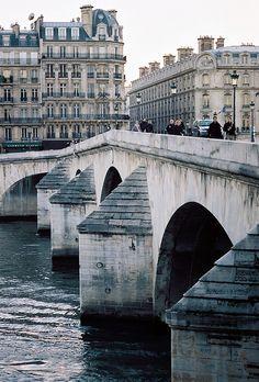 View on the Royal Bridge / Pont Royal from the Quai des Tuileries, Paris I. Places To Travel, Places To See, Places Around The World, Around The Worlds, Paris Canal, Pont Royal, Pont Paris, Paris Paris, Tuileries Paris