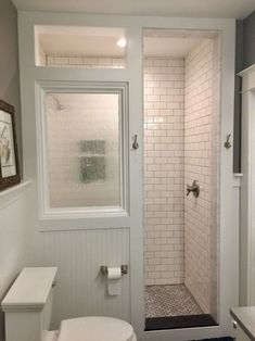 Beautiful master bathroom style tips. Modern Farmhouse, Rustic Modern, Classic, light and airy master bathroom design some suggestions. Bathroom makeover a few tips and master bathroom remodel suggestions. Tiny House Bathroom, Dream Bathrooms, Modern Bathroom, Small Bathroom, Bathroom Ideas, Washroom, Bathroom Bin, Shower Ideas, Peach Bathroom