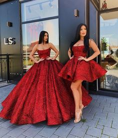 8 Gorgeous Dresses For Lovely Ladies - PHOTOS WOW, I know you don't wanna wait to see the most amazing photos we have shared below but I just need one Cute Prom Dresses, Prom Outfits, Sweet 16 Dresses, Pretty Dresses, Homecoming Dresses, Short Dresses, Red Wedding Dresses, Pageant Dresses, Red Quinceanera Dresses