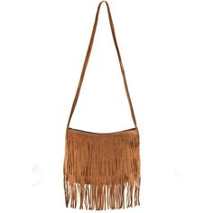 Fringe Boho Bag ($19) ❤ liked on Polyvore featuring bags, handbags, purses, bolsas, accessories, sacs, bohemian purse, crossbody purse, fringe handbags and boho fringe purse