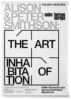 alison and peter smithson | the art of inhabitation