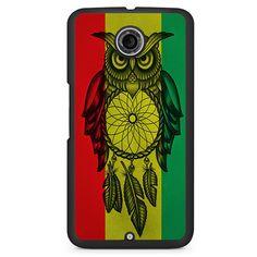 Owl Jamaican Flag Google Phonecase For Google Nexus 4 Nexus 5 Nexus 6
