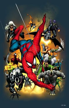 Spider-man and his amazing foes!!!