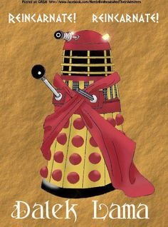When they exterminate the Doctor regenerates!