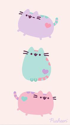 Pusheen the cat floral pastels spring iphone wallpaper Kawaii Cute Wallpapers, Panda Wallpapers, Kawaii Wallpaper, Gato Pusheen, Pusheen Cute, Unicornios Wallpaper, Iphone Wallpaper Glitter, Cute Animal Drawings, Cute Drawings