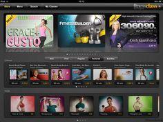 FitnessClass iPad App - Clickable Demo