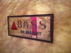 Antiguo Cartel Publicitario Bass