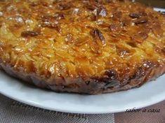 Receita Sobremesa : Tarte de amêndoa caramelizada de Saboracasa
