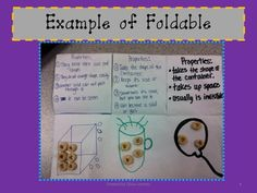 Unit to teach States of Matter!  Lots of foldables and experiments.  Unit test at the end included!