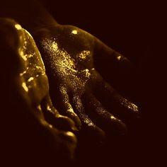 #gold, #hands