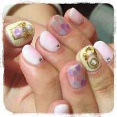 ume_nails* ぷっくりPerfume * #nail #nails #gelnail #manicurist #design #naildesign #art #nailart #newnails #kawaii #Japan #ネイル #ネイルサロン #ネイリスト #ネイルデザイン #ジェルネイル#美甲 #美爪 #横浜 #yokohama #横浜ネイル #パフュームネイル#香水ネイル#チークネイル#パステルカラー#パステルカラーネイル#ハートネイル#春ネイル#ふんわり#乙女ネイル