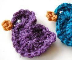 free little bird crochet pattern