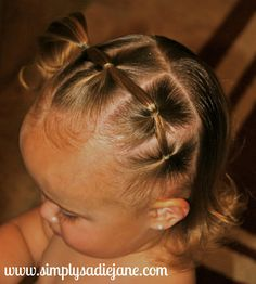 22 MORE fun and creative TODDLER HAIRSTYLES!! Mostly for longer hair...