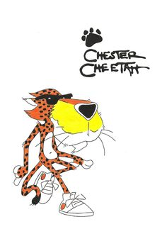 Chester Cheetah!  Love him & his Cheetos!