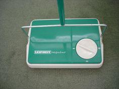 vintage carpet sweeper
