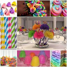 Colorful Candyland Sweet Fifteen Theme #quinceanera