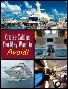 Cruise Cabins to Avoid #travel