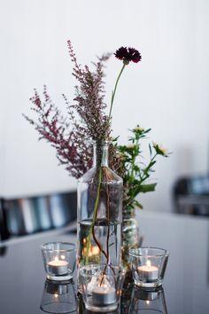 Wedding centerpiece of wildflowers - Berkeley Fieldhouse- Toronto Wedding